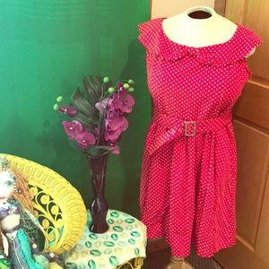 Lindy Bop Dresses - Lindy Bop polka dot dress